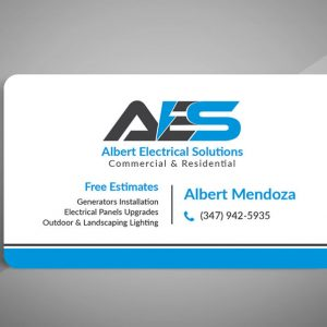 Standard Business Cards (One Sided)